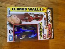 Radical Racers Remote Controlled Wall-Climbing Car As Seen on Tv Brand New Blue