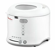 Moulinex 808437 AF 1231 Uno M Fritteuse 1600W 1,8l weiss