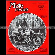 MOTO REVUE N°1177 JACQUES CHARRIER TRIAL SAINT-CUCUFA FLAT-TWINS  BMW R25/3 1954
