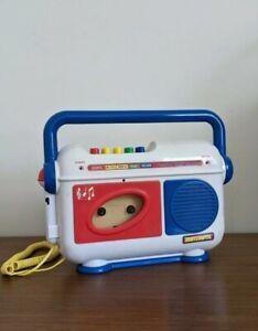 "Matchbox Vintage Kids children Cassette Tape Player ""working"""