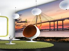 Charleston Bridge Wall Mural Photo Wallpaper GIANT DECOR Paper Poster Free Paste