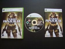 TOMB RAIDER UNDERWORLD : JEU Microsoft XBOX 360 (Eidos COMPLET envoi suivi)