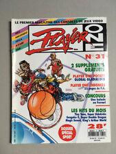 PLAYER ONE magazine (n°31 - mai 93)  sega console megadrive neo geo soluce lynx