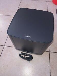 Bose Bass Module 500 for Soundbar 500/700, SoundTouch 300 Soundbars, Black*