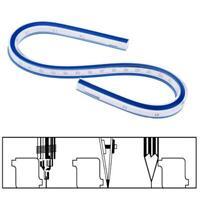 Flexible Curve Ruler Drafting Drawing Tool Vinyl Plastic 30cm 40cm 50cm 60cm