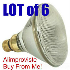 150W PAR38 130V INCANDESCENT FLOOD NEW 150PAR/FL FabULoUs Light BULB LOT of 6