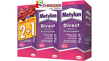 METYLAN DIRECT KLEISTER FÜR VLIESTAPETEN 3 X 200G AKTIONSPACK