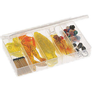 Plano Box Fishing Tackle Bait Storage Case Lure Hook Bag Bags Carp Fly Clear