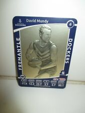 2012 AFL Team Coach Star Wild Card Very Rare (no SW at top right) - David Mundy