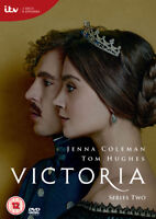 Victoria: Series Two DVD (2017) Jenna-Louise Coleman cert 12 2 discs ***NEW***