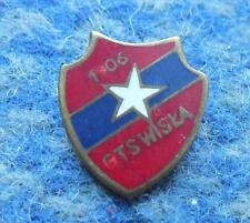 WISLA KRAKOW POLAND FOOTBALL SOCCER BASKETBALL 1970's ENAMEL PIN BADGE