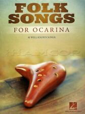 Folk Songs for Ocarina Sheet Music Book Danny Boy Greensleeves Skip To My Lou