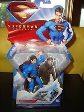 DC Comics Superman Returns Collectable Super Breath Action Figure In Package