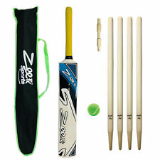 ZEEPK COMPLETE CRICKET KIT FOR KIDS AGE 7-13 YEARS KASHMIR WILLOW BAT + WICKETS
