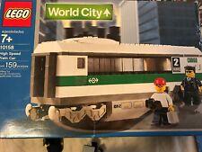 Lego World City High Speed Train Car (10158)