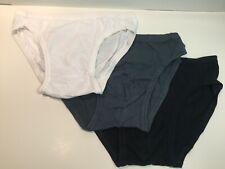 Jockey Life, 3-Pack! of Men's 100% Cotton Bikini Briefs, Large 36-38 Inches