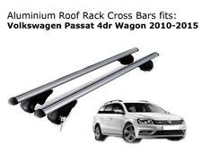 Aluminium Roof Rack Cross Bars fits Volkswagen Passat Wagon 2010-2015