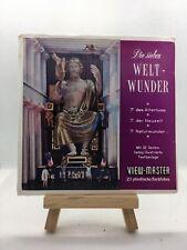 3 View Master Reels - Die sieben Weltwunder - B901-D - 🎞️