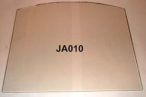 JA010 VO010 Wood burning stove Glass replacement 216 x 251mm  Foxhunter