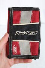 Reebok Sports Wallet Tri-Fold Unisex Wallet - Zippered Coin/Cash Spots