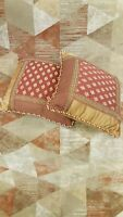Eastern Accents Hand Crafted Throw Pillow Set, 2 pieces, 16 x 16