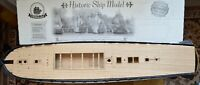 Revell USS Constitution 1:96 - laser cut wooden deck for model
