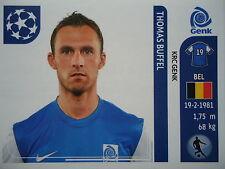 Panini 339 Thomas Buffel KRC Genk UEFA CL 2011/12