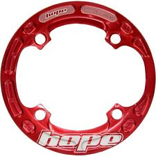 Hope Bash Guard 4 Bolt 104mm BCD 32-34t Red - Brand New