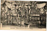 CPA Brantome-Sculpture des Grottes intérieures de l'Abbaye (233358)