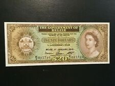 BELIZE  20 Dollars  1976