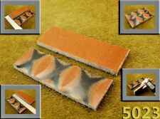 """5"""" Pair of Multi-Color Canvas Micarta Wood Scales Handle Making Blanks Craft5023"""