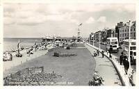 Vintage Kent Real Photo Postcard, Promenade and Gardens HERNE BAY AG2