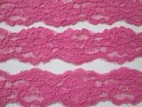 4,5 METER Malven SPITZE Nichtelastisch Borte Lace 3,5cm breit MODE elegante