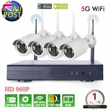 1080N 4CH HD Network NVR 2500TVL IP CCTV Wireless Security Motion Camera System