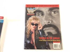WWF Magazine 1997 September Wildman Marc Mero Sable Rena WCW + Rare WWE Cards!