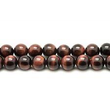 Perles de Pierre - Oeil de Taureau Boules 12mm Fil de 39 cm