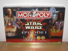 STAR WARS MONOPOLY COLLECTORS EDITION EPISODE 1 - C.1999- 100% COMPLETE VGC