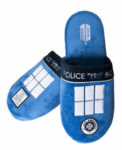 DOCTOR WHO Tardis Mule Slippers