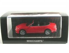 436139061 Bentley Continental GT vitesse 2012 Rot 1 43 Minichamps