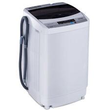 Giantex EP23113 Portable Washing Machine with Drain Pump - White