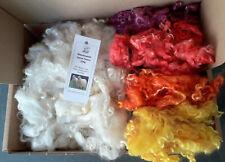 Teeswater Loose in Pile in marrone per la filatura e artigianato 50g