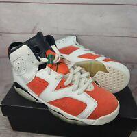 Jordan 6 VI Retro Gatorade Be Like Mike White Orange Sz 6.5Y with Box 384665-145