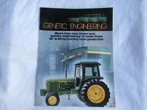 1981 John Deere 3140 1640 1840 1040 1140 1250 tractor brochure