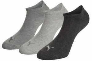 3,6,9,12 Paar Puma, Sneaker Socken, A.261080001,grey mix, Größe 39-42 und 43-46