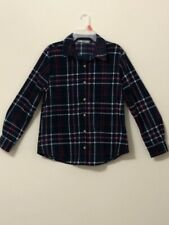 CHECKERED LEE RIDERS BUTTON DOWN LONG SLEEVE SIZE SMALL