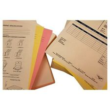 """8-1/2"""""""" x 11"""""""" Pre-Collated 20# Colored Paper, 1670 White / Canary / Pink Sets ("""
