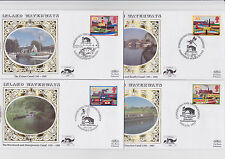 GB FDC 1993  Benham small silk Inland Waterways  4)  BS33/36 Excellent Condition