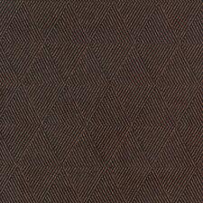 Chocolate Brown Textured Geometric Diamond Woven Upholstery Fabric 1234420