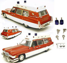 VF Cadillac Superior Ambulance De Grooth '76 n/Elegance Motor City Brooklin 1/43