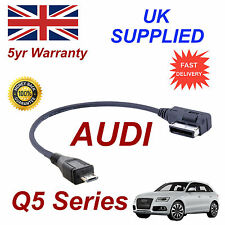 Véritable Audi Q5 Série Ami Mmi 4f0051510m MP3 Téléphone MICRO USB CABLE de remplacement